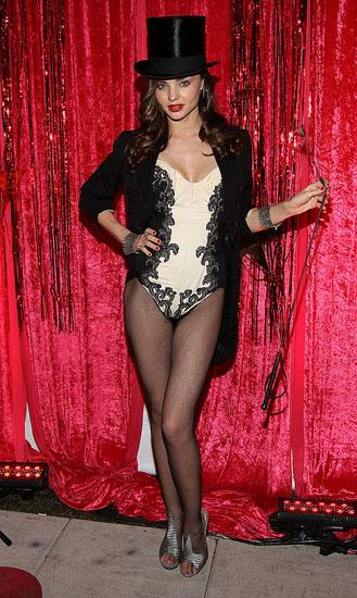 Promi-Halloween-Kostümen - das Mädchen aus dem Zirkus