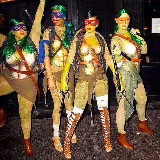Teenage Mutant Ninja Turtles auf Halloween