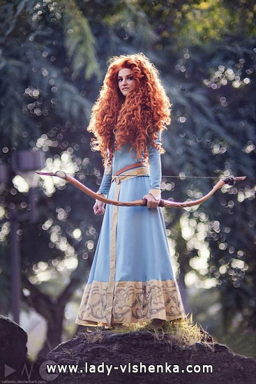 Outfit Merida Halloween