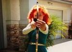 Kostüm Merida für Mädchen auf Halloween