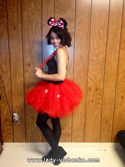 Anzug für Mädchen auf Halloween
