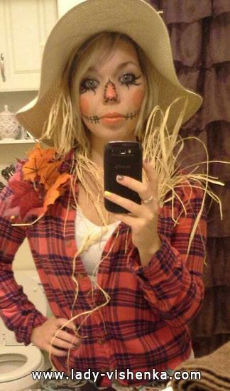 Kostüm Ideen für Halloween - Vogelscheuche