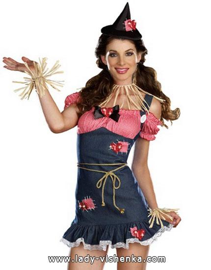 Kostüm Vogelscheuche Halloween für Mädchen