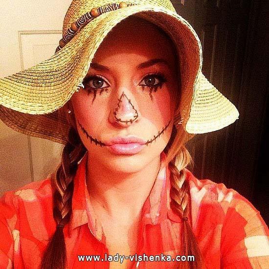 Bilder Halloween für Mädchen - Vogelscheuche