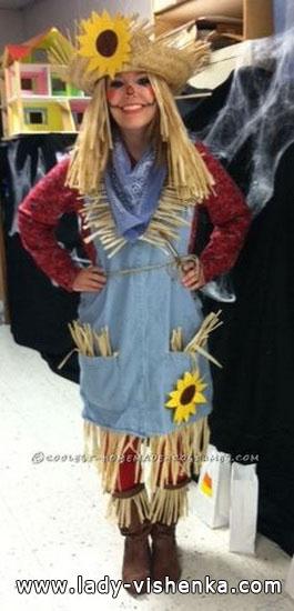 Vogelscheuche - Outfit an Halloween