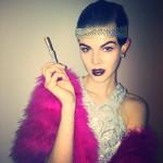 Модель Ruby Jean Wilson на Хэллоуин