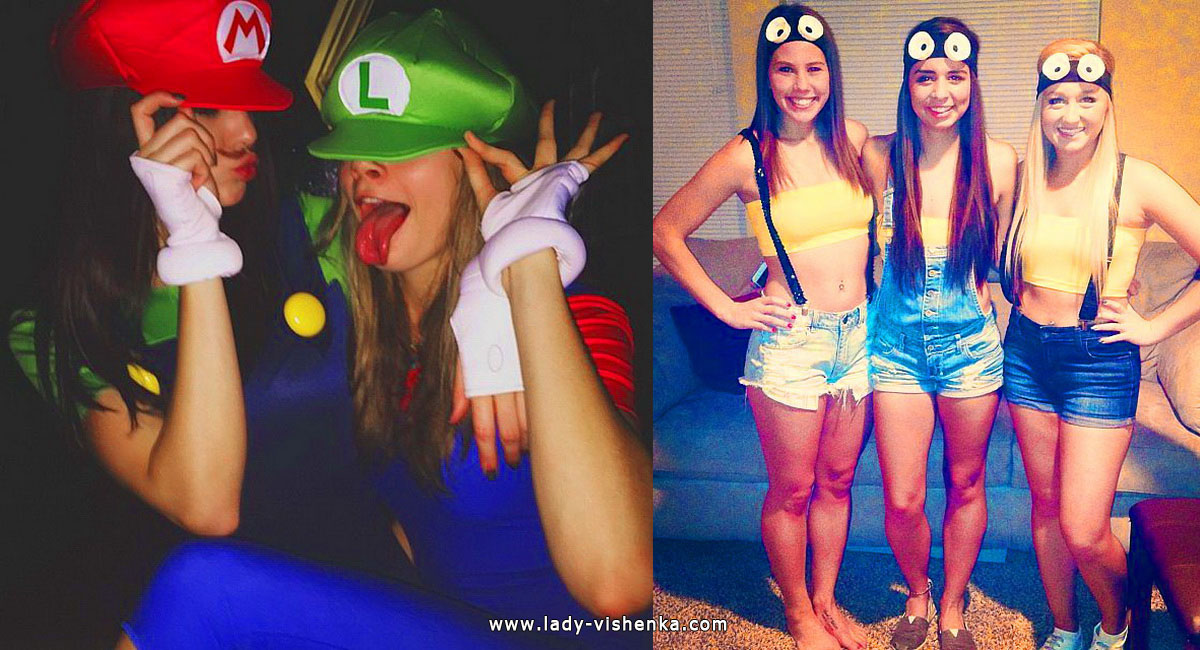 Halloween-Kostüm für Mädchen