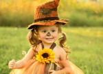Halloween-Kostüme für kleine Mädchen 1 — 3 des Jahres