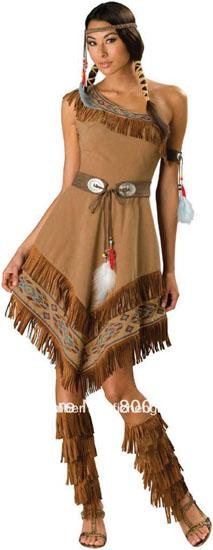 Das Bild von Pocahontas Halloween