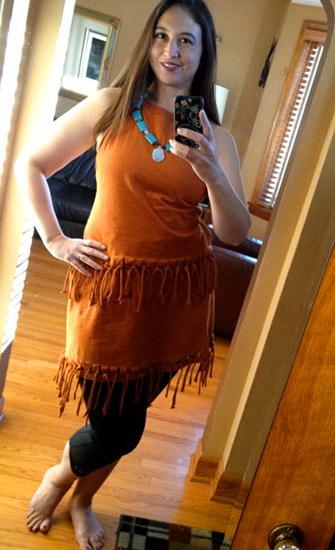 Pocahontas Halloween-Kostüm für Mädchen