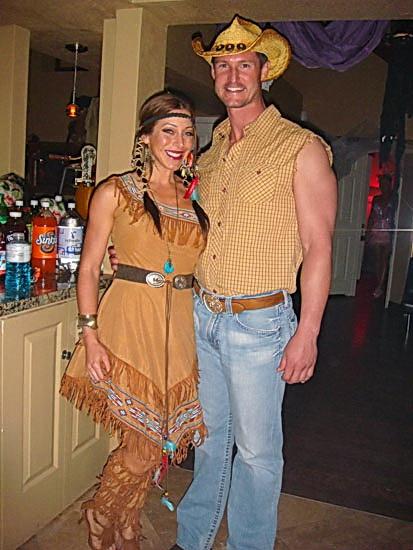 Pocahontas einfaches Kleid auf Halloween