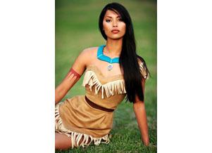 Pocahontas Kostüm auf der Halloween - 20 Ideen
