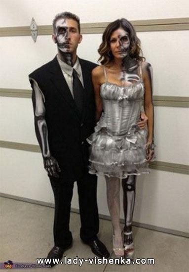 Leichen - Kostüme für Paare Halloween