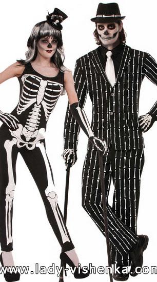 Skelett-Kostüm für Jungs und Mädchen