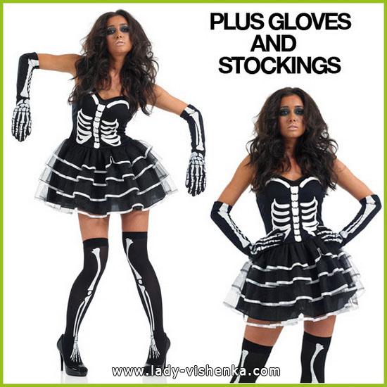 Halloween-Kostüme - Foto des Skeletts