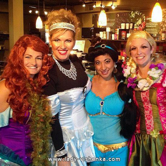 20 Ideen Kostüm Disney Prinzessin Halloween