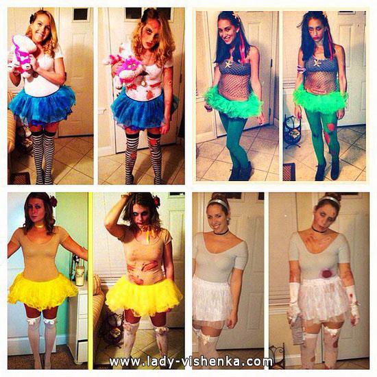 Outfit der Disney-Prinzessin Halloween