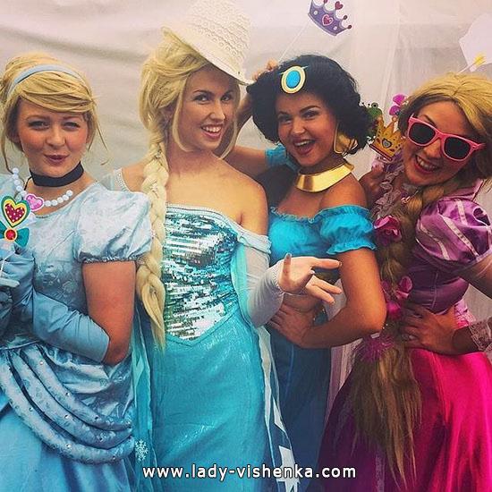 Kleider für Halloween-Party - Prinzessin