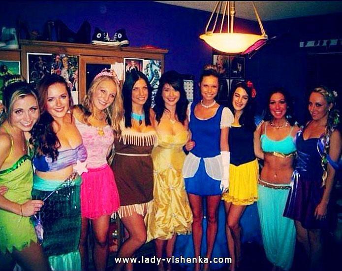 Disney Prinzessinnen Kostüme für Halloween