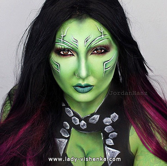 make-up für Halloween - Foto-Ideen