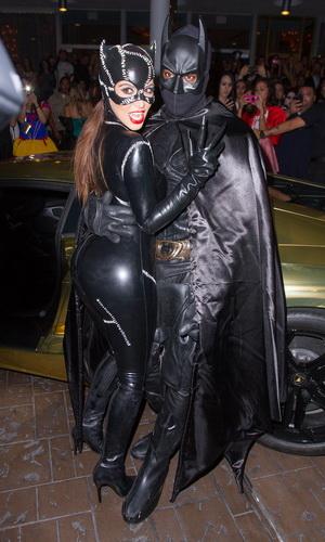 Kostüm Catwoman Halloween für Mädchen