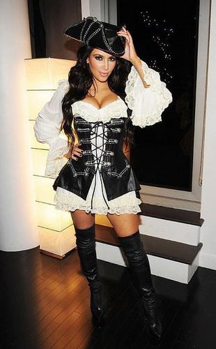 Piraten-Kostüm Halloween für Mädchen