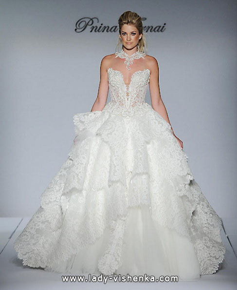 Hochzeitskleid Quinceanera Kleid mit Spitze - Pnina Tornai