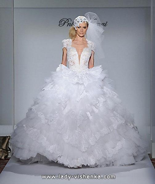 Hochzeits-Spitze Quinceanera Kleid - Pnina Tornai