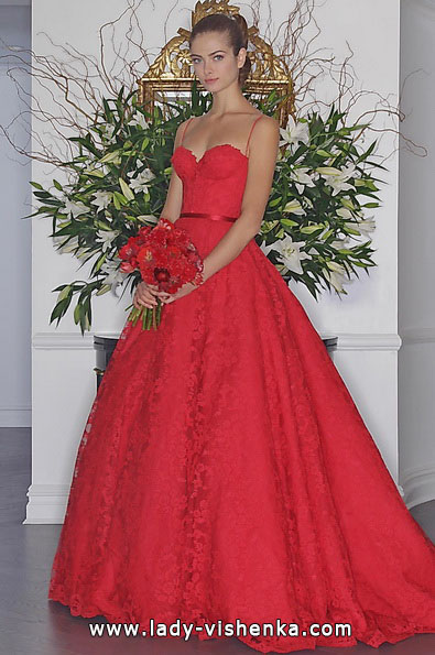 Hochzeitskleid Quinceanera Kleid mit Spitze - Romona Keveza