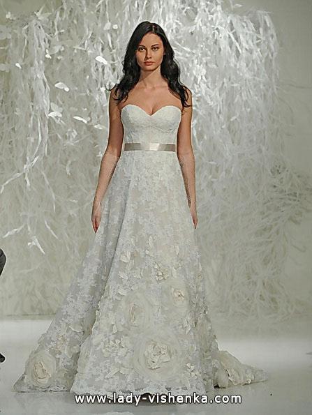 Lace-Hochzeit Kleider A-Linie - Watters