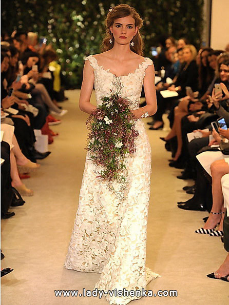 Spitze Hochzeitskleid Carolina Herrera 2016