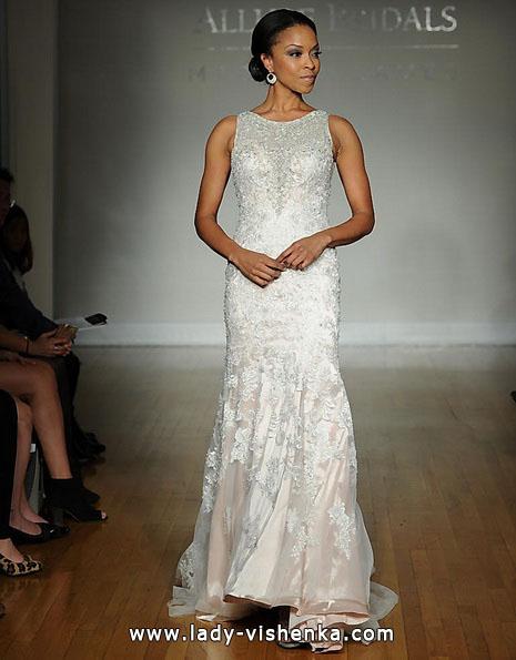 Meerjungfrau Brautkleid mit schleppe 1