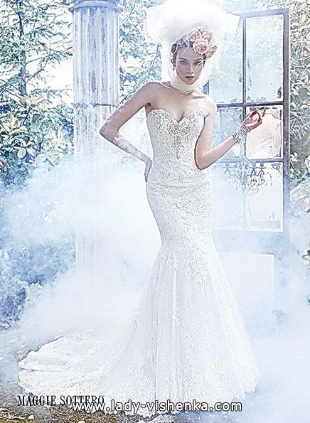 Meerjungfrau Brautkleid mit schleppe 12