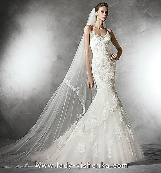 Meerjungfrau Brautkleid mit schleppe 13
