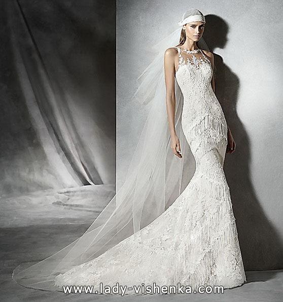 Meerjungfrau Brautkleid mit schleppe 17
