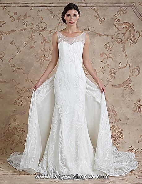 Meerjungfrau Brautkleid mit schleppe 20