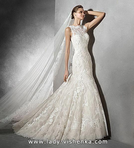 Meerjungfrau Brautkleid mit schleppe 22