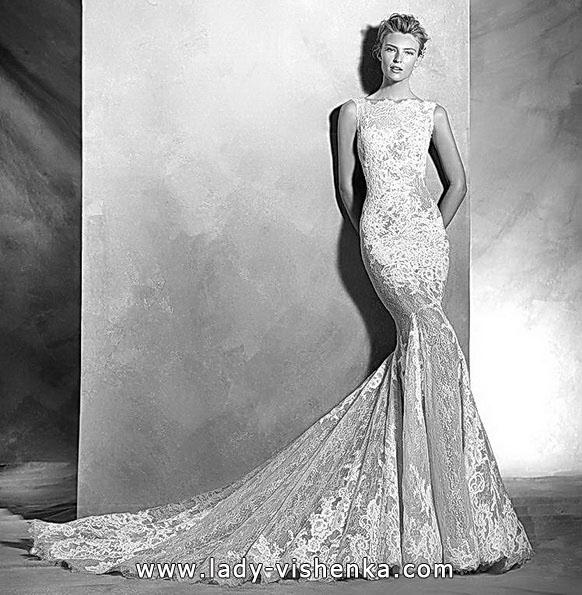 Meerjungfrau Brautkleid mit schleppe 24