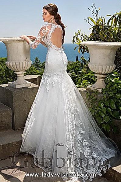 Meerjungfrau Brautkleid mit schleppe 25