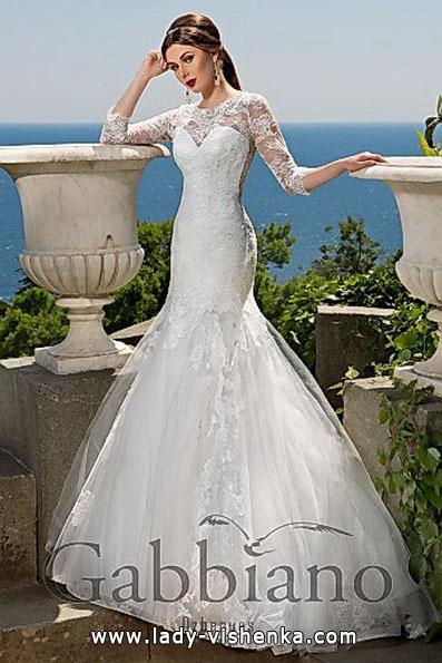 Meerjungfrau Brautkleid mit schleppe 26