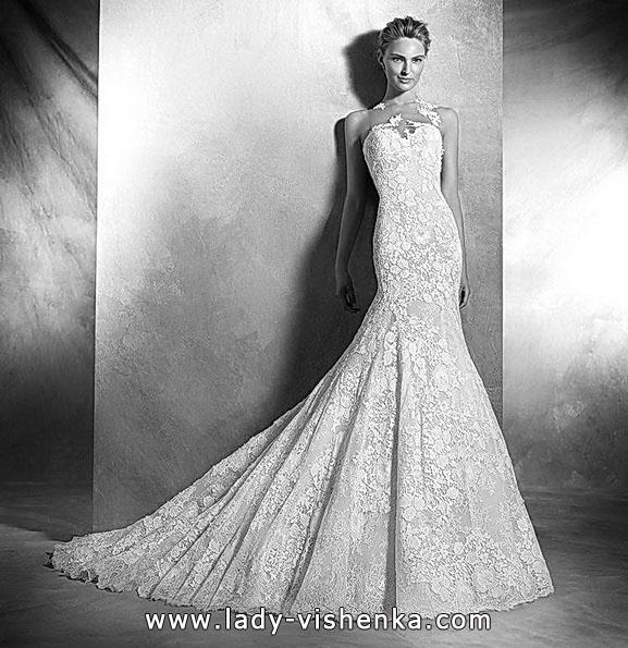 Meerjungfrau Brautkleid mit schleppe 5