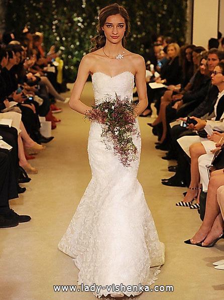 Meerjungfrau Brautkleid mit schleppe 6