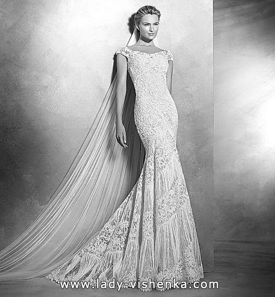 Meerjungfrau Brautkleid mit schleppe 8