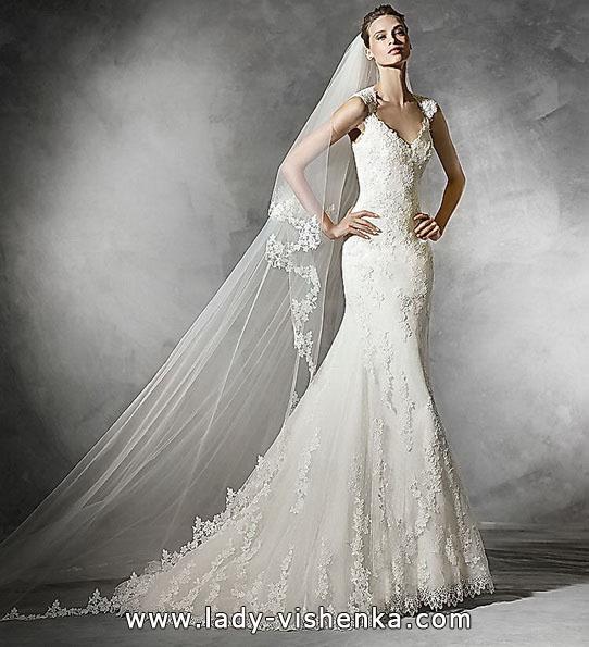 Meerjungfrau Brautkleid mit schleppe 9