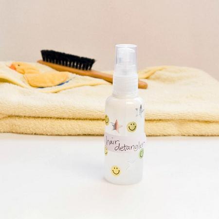 Spray zum kämmen der Haare