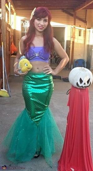 Ariel - Kostüm für Mädchen Halloween