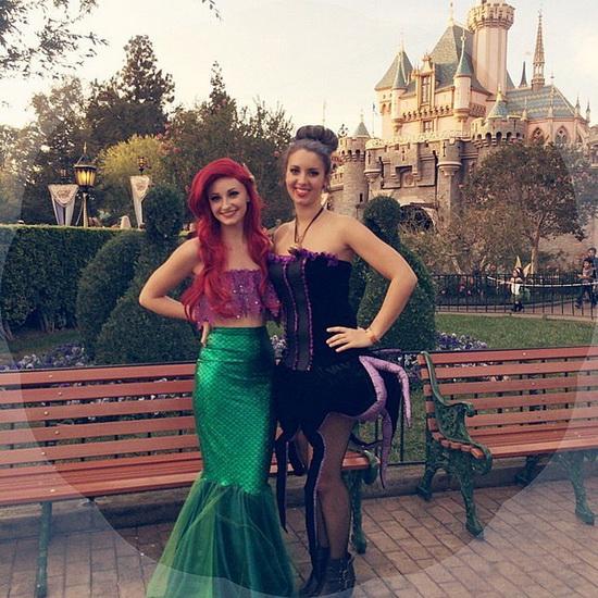 Ariel Kostüm für Halloween