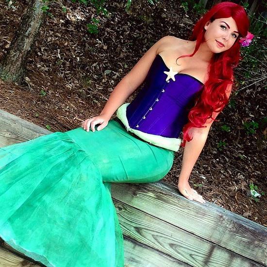 Original Ariel Kostüm für Halloween