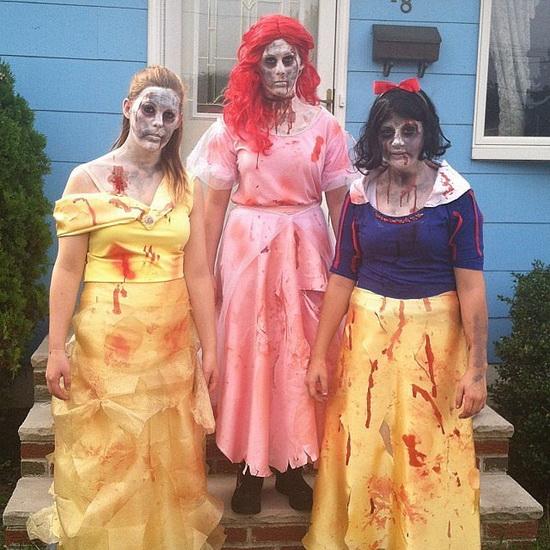 Zombie Meerjungfrau Halloween