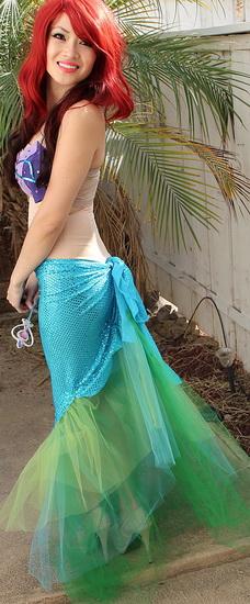 Kostüm Prinzessin Ariel Halloween